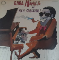 EARL HINES IN NEW ORLEANS   -  JAZZ LP  BAKELIT LEMEZ  VINYL