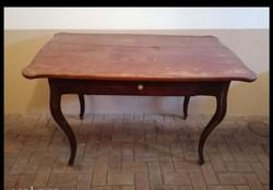 Antik Íróasztal nagy fiókos