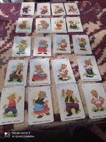 Vidám mackók kártya játék