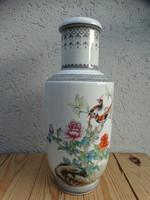 Nagy kínai váza 36 cm- 60-70 évek