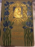 Schiller költeményei! 1 kötet! Remekírók képes könyvtára!szerk; Radó Antal.(1902)