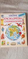 Usborne Enciklopédia gyermekeknek ismeretterjesztő könyv
