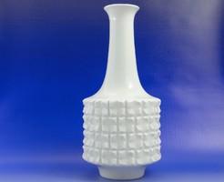 6983 Antik formatervezett Ludwig Zepner kardos Meisseni porcelán váza
