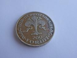 Az első Magyar Aranyforint Emlékére 200 Ft-os ezüst emlékérme