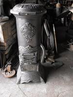 Nagyon szép Koksz öntöttvas +lemez kályha 1930  vaskályha