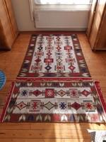 2 db retro szőnyeg