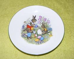 Kahla nyuszis tányér