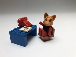 LEGO Fabuland 3716 - Róka Robi Irodája - 1985-ből
