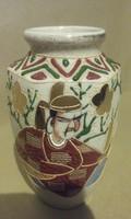 Satsuma kerámia váza