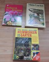 Német kertészeti könyvek _  Balkon&Terrasse _ Heimwerken Garden _  Mein Garden