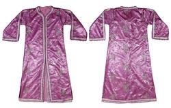 Vintage retró gyönyörűen hímzett flitteres marokkói 2 darabos meseszép fényes ruha kaftán
