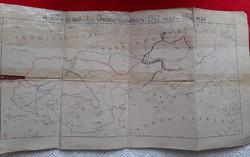 2. Világháborús Vép térkép.