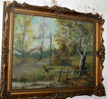 Antik festmény 424
