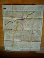 1951 régi térkép winchester nagy méretű Anglia UK Nagyb ritannia ha jól látom katonai KIÁRUSÍTÁS 1ft