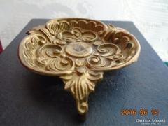 Rokokó bronz hamutartó