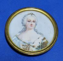 Miniatűr, Mária Terézia Spanyol infánsnő