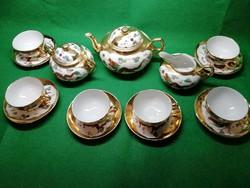 Kínai porcelán teáskészlet