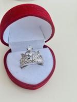 Hercegnői ezüst gyűrű !