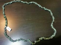 Új smaragd nyaklánc szertifikációval