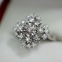 Gyémántos arany gyűrű