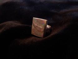 Ezüst gyűrű abalonnal 10,3g!