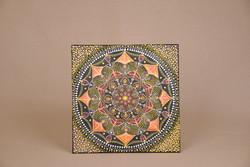 Álomfogó Mandalakép 40×40cm