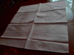 6 db új damaszt szalvéta, 52  x 52 cm