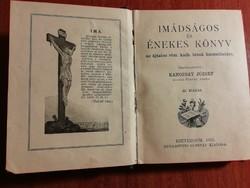 Római katolikus Imádságos és énekeskönyv, 1915