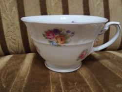 Rosenthal Bavaria antik csésze, rózsa mintás