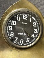 8 napos szerkezetű omega asztali óra eladó!Ara:40000.-