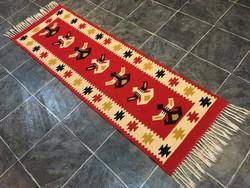 TORONTÁLI kézi szövésű gyapjú szőnyeg, 59 x 205 cm