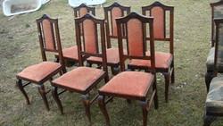 Hat darab polgári szék