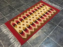 TORONTÁLI kézi szövésű gyapjú szőnyeg, 63 x 145 cm