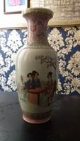 Kézzel festett kínai váza