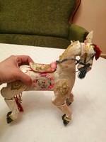 Marionett táltos ló-felújításra szoruló