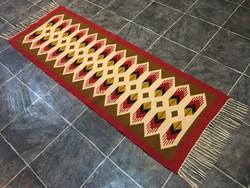 TORONTÁLI kézi szövésű gyapjú szőnyeg, 63 x 201 cm