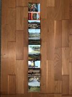 Sächsische Schweiz leporelló képeslap