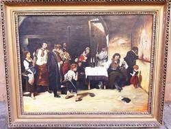 Munkácsy Mihály után: Siralomház