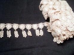 Díszes csipke szalag vitrázs,ruha,terítő... 12 méter!!