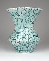 1D320 Retro Gorka jellegű iparművészeti kerámia váza 13.5 cm