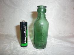 Antik pici komol gyógyszeres patika üveg 8cm