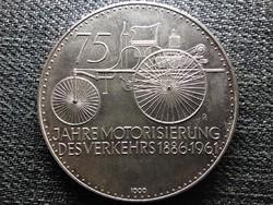 Németország 75 éves a Daimler Benz .1000 ezüst 1961 érem (id46197)