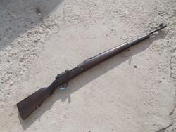 Német gyártású portugál 1904M puska hatástalanítva