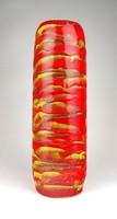 1D100 Retro csorgatott mázas iparművészeti retro kerámia váza 32.5 cm
