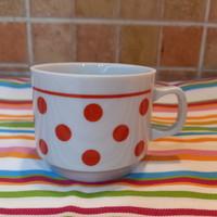 Zsolnay Pöttyös Kávés Csésze