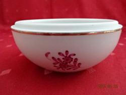 Herendi porcelán Apponyi mintás cukortartó alja. Felső átmérője: 11,5 cm.