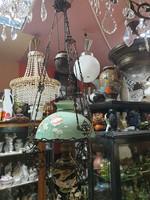 Régi lüszter lámpa