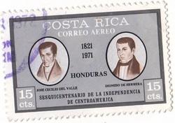 Costa Rica légiposta bélyeg 1971