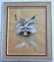 Robert Ottiger körébe tartozó svájci művész festménye