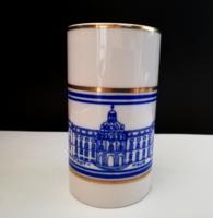 Wallendorf porcelán emlék pohár